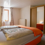Ferienwohnung Müglitztal Schlafzimmer