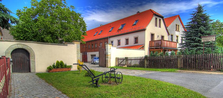 Ulmenhof Einfahrt