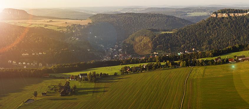Umgebung Sächsiche Schweiz